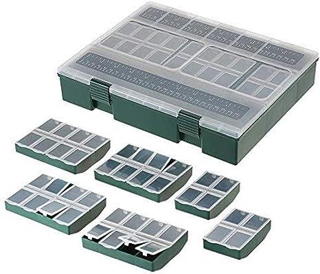 Lzdingli Caja portátil 7 en 1 Caja de Aparejos de Pesca Completa 4 ...