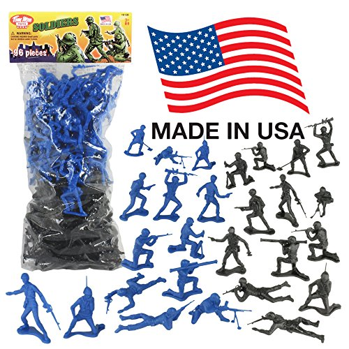 Stocking stuffer ideas 4 yr old boys. Blue Vs Black Army Men