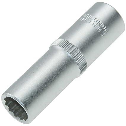 Llave de vaso larga 12-Point/destornillador multi-dientes llave de ...