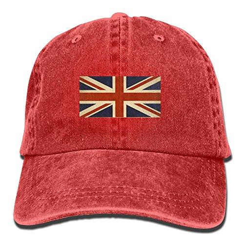 Vintage Union Label (Men And Women British Flag Vintage Jeans Baseball Cap)
