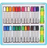 Leisial 24Couleur Art outils Arts au crayon pastels à l'huile de crayon de couleur Crayons de couleur Pentel Arts