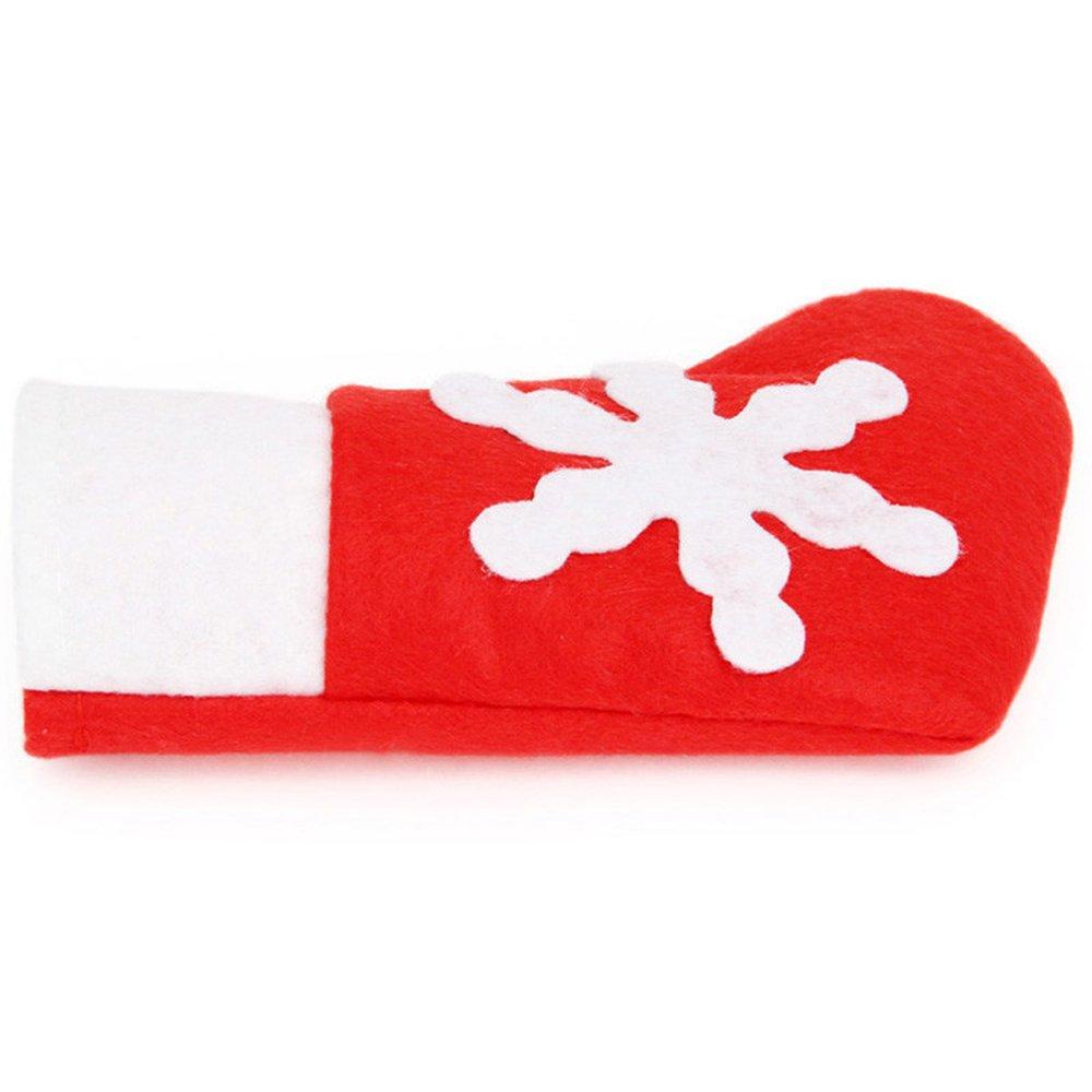 Christmas Mini Small Socks Lautechco® Lautechco/® 12pcs Christmas Stocking Christmas Decorations