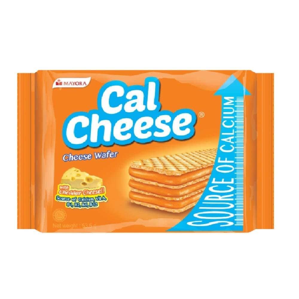 Mayora Cal Cheese Wafer 53.5g (628MART) (3 Packs)