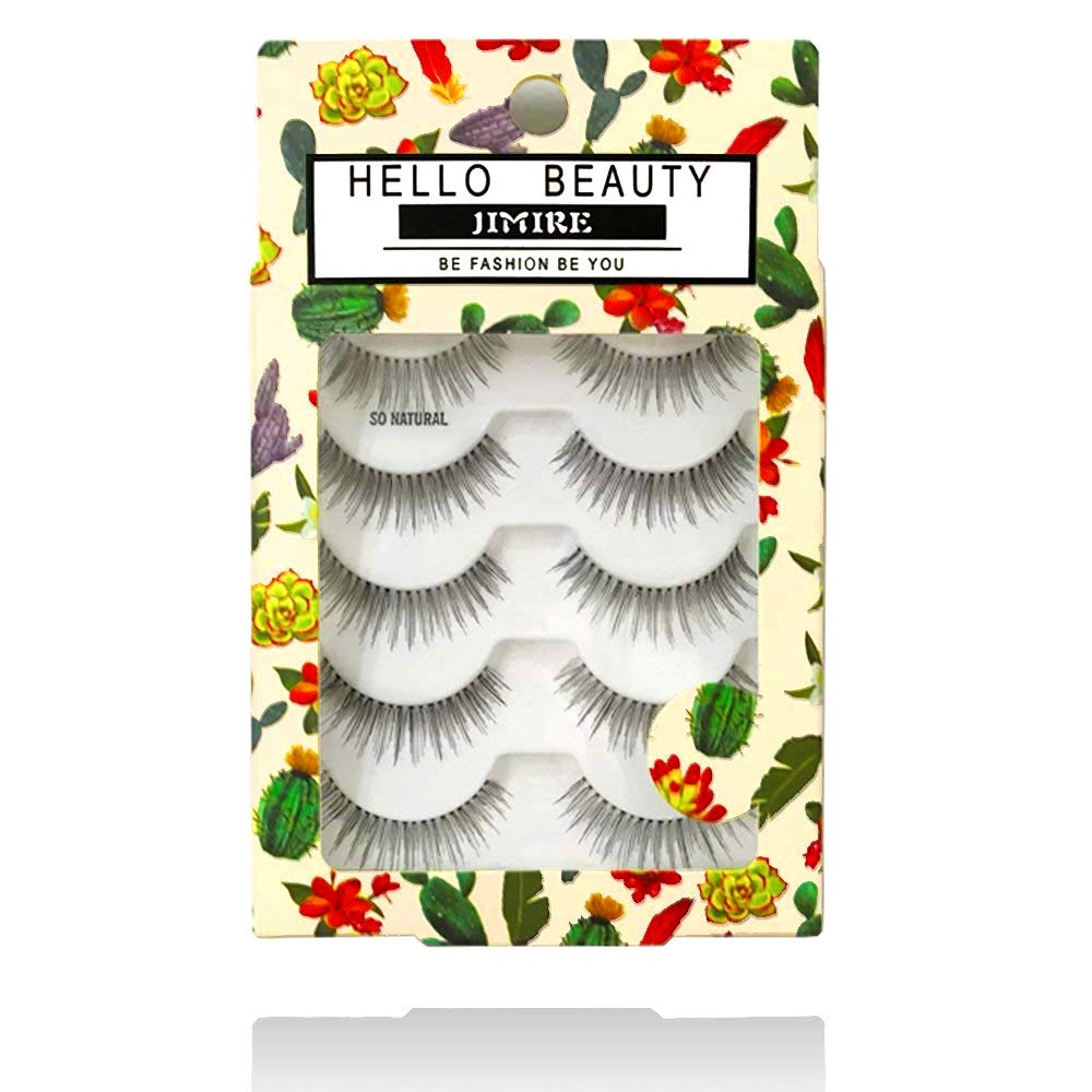 JIMIRE HELLO BEAUTY Multipack Natural 110 Eyelashes