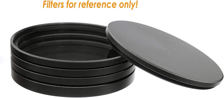 Filter Stack 40.5mm Aluminum Alloy Fotasy 40.5mm Metal Filter Stack Caps Slim Stack fits 40.5mm UV CPL Fader ND Filter