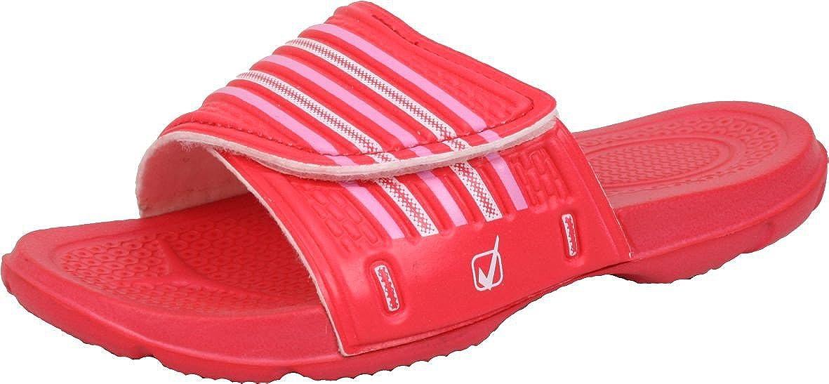 Bockstiegel® Max Tongs pour Enfants | Pointures 27-35 | Chaussures de Bain | Sandales de Bain | Anti-Glisser Couleur:Red; Taille:31