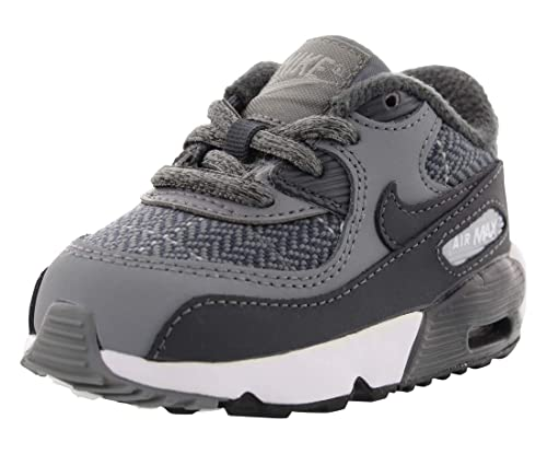 online retailer 5a145 95aed Nike Air Max 90 SE LTR Cool Grey Anthracite-Wolf Grey (Toddler)