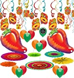 Fiesta Party Mexican Theme Birthday Party Supplies Balloon Decoration Bundle