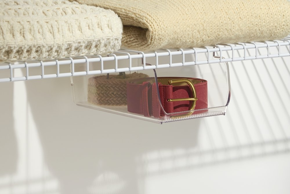 Amazon.com: mDesign Wire Shelving Organizer, Closet or Pantry ...