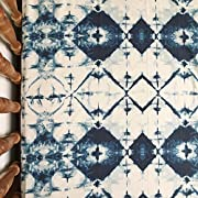 Indigo Boho Crib Sheet for Boy Baby Bedding
