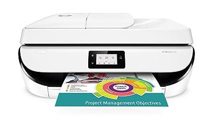 HP OfficeJet 5232 1200 x 1200DPI Inyección de Tinta A4 10ppm WiFi - Impresora multifunción (Inyección de Tinta, 1200 x 1200 dpi, 100 Hojas, A4, ...