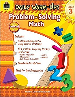 Daily Warm-Ups: Problem Solving Math Grade 3 (Daily Warm-Ups: Word Problems) by Mary Rosenberg (2011-06-21)