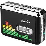 Blumway 高品質カセットテープUSB変換プレーヤー MP3コンバーター カセットテーププレーヤー MP3曲の自動分割 USBフラッシュメモリ保存 オートリバース機能搭載 CE/FCC/ROHS認証済み イヤホン付属 日本語取扱説明書付き