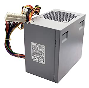 L305P-01 NH493 305W Power Supply Replacement PSU for Dell Optiplex 360 380 580 745 755 760 780 960 MT Mini Tower N305P-06 F305P-00 L305P-03 H305P-02 N305P-06 PS-6311-5DF-LF MH595 XK215 P192M