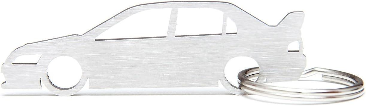 SCOOBY DESIGNS Llavero de metal de calidad en caja de regalo de MITSUBISHI EVOLUTION 5 6 7 8 9 10