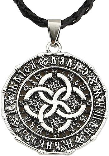 Valknut viking Celtic Talismans Triskele Compass Nordic silver Pendant Necklace