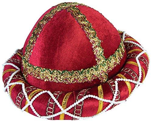 Forum Novelties Men's Sultan Sheik Hat, Red, One Size