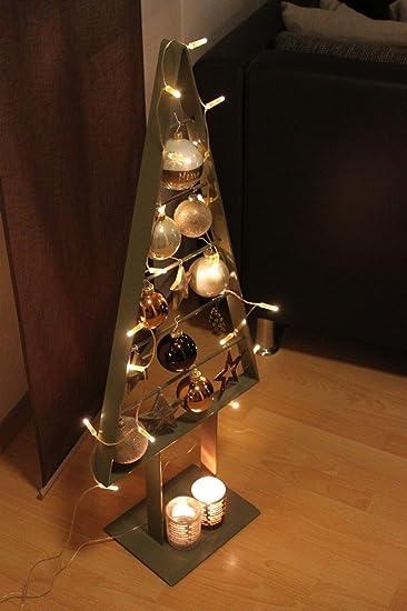 Weihnachtsbaum Metall.Edelstahlheini De Tannenbaum Metall Künstlich Weihnachtsbaum Edel Moosgrau Hochglanz 98cm