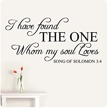 Amazon Com 48 I Have Found The One Whom My Soul Loves Song Of