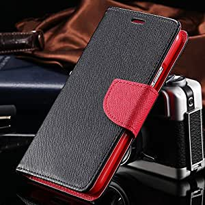 Luxury Cute With Logo Flip Case for Galaxy S5 i9600 Wallet Stand PU Leather Colorful Lovely Accessories Cover for Samsung S5 --- Color:Yellow