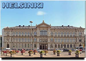 Helsinki Fridge Magnet Finland Travel Souvenir