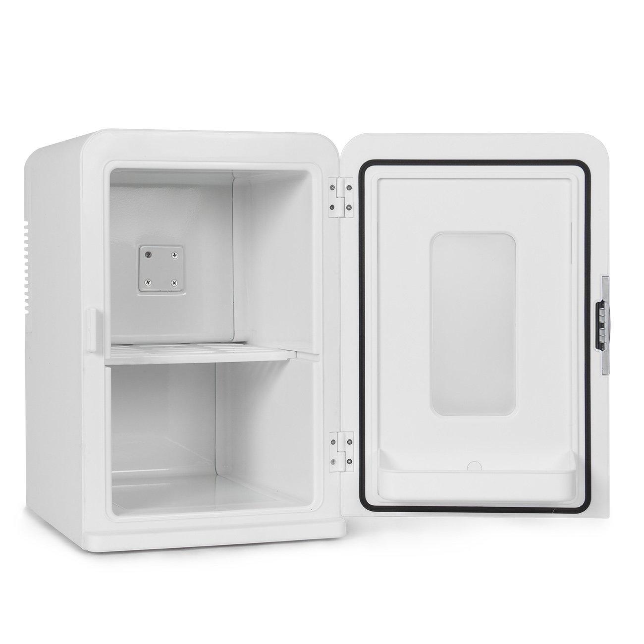 Della Portable Mini Fridge Camper RV Dorn Home Office Boat, LCD Cooler and Warmer 15L -White by DELLA (Image #3)