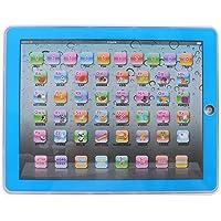 Fdit Tableta Electrónica de Aprendizaje Pad Educativo para Bebés Actividades de Aprendizaje de Letras, Palabras, Números o Niños Pequeños, Solo Ingles