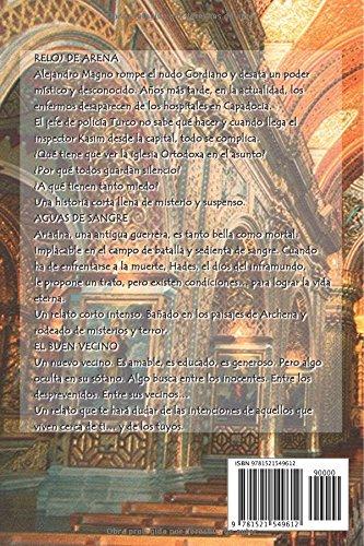 Reloj de arena: Y otros relatos (Spanish Edition): Alexander Copperwhite: 9781521549612: Amazon.com: Books