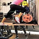 Vishusju 1 Pair Thigh Strap Neoprene Padded Fitness Legs Cuff Adjustable Strength Training Accessories Speed Exercise for Taekwondo Football Running