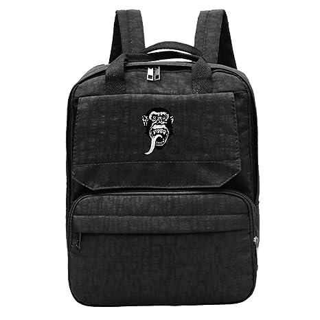 Women s Monkey Garage Dallas.png Backpack Rucksack  Amazon.ca  Luggage    Bags fad303e362