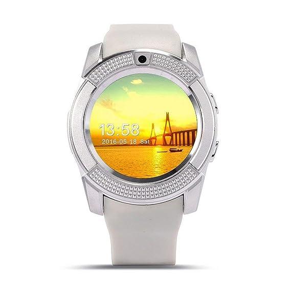 Smartwatch, Reloj Inteligente Android con Ranura para Tarjeta SIM, Reloj Inteligente para Deporte, Reloj Iinteligente Hombre Mujer niños, Reloj de ...