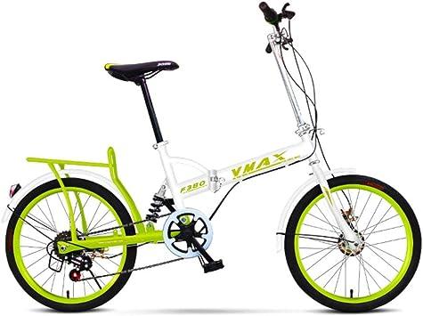 HWZXC Bicicletas Plegables para Estudiantes, Bicicletas Plegables ...
