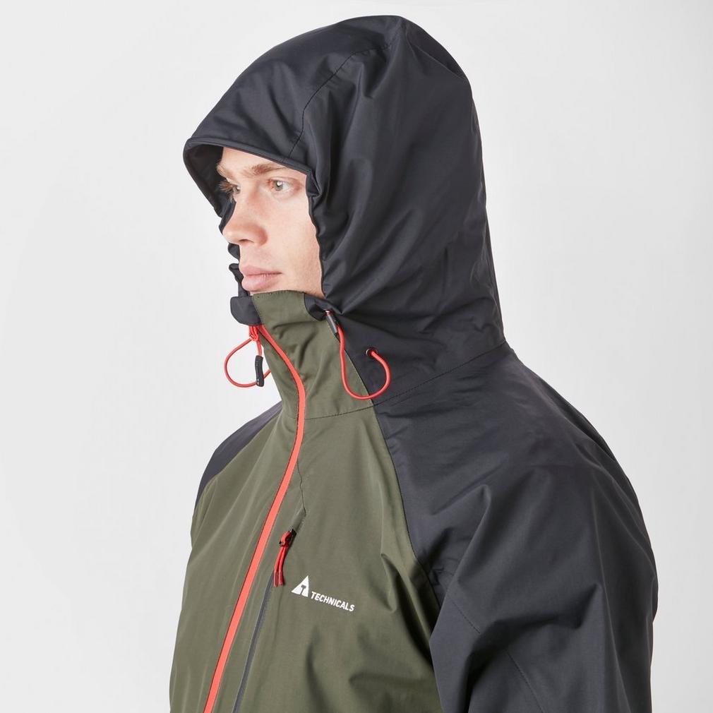 TECHNICALS Men/Â/€/Â/™s Lightweight Waterproof Shell Jacket