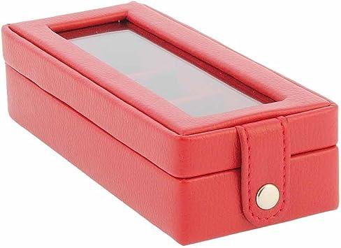 Mini estuche para anillos Talla: U Color: ROJO: Amazon.es: Bricolaje y herramientas