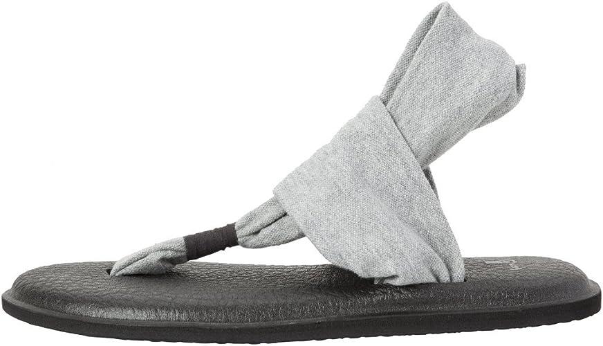 Sanuk Damen Yoga Sling 2 Metallic Sandale, Burgunderrot Multi Radio Love, 37 EU