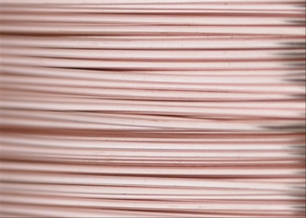 Beadalon 28AWG-21 28 Gauge Permanent Colored Copper Wire Rose Gold 15-Yard