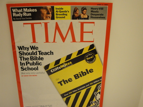Download Time Magazine April 2 2007 Why we should teach the Bible in pubic school pdf epub