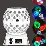 symboat 6/W E27/LED Disco Licht Bluetooth Leuchtmittel Beleuchtung RGB Lampe Kristall Kugel Effektlampe Lichter