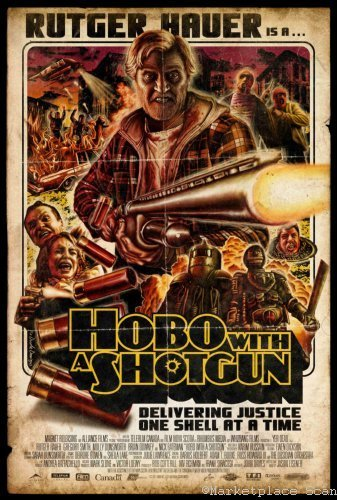 (Hobo With A Shotgun Movie Poster 24x36in)