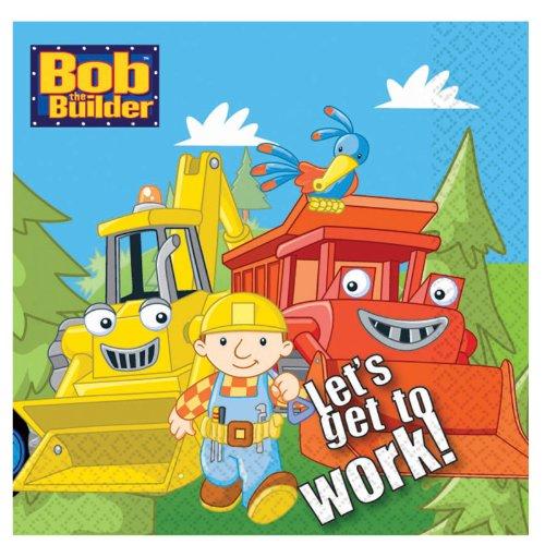 - Bob the Builder Large Napkins (16ct)