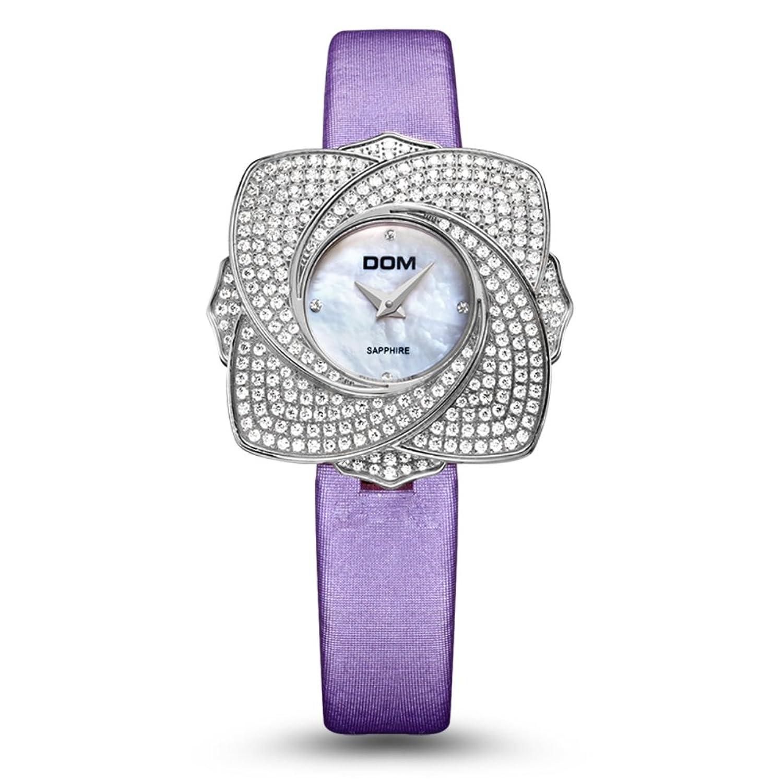 Fashion elegantes Armbanduhr- Blume Damenuhr-Quarz-Uhren-C