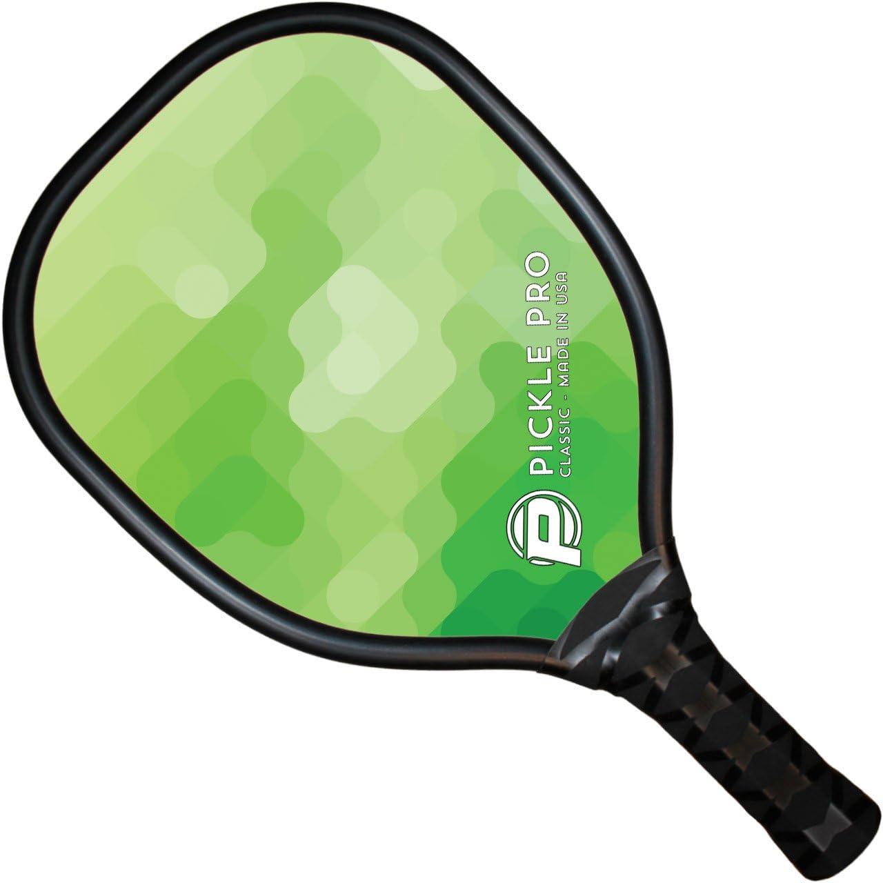 Pickle Pro Composite Pala de Pickleball, Verde: Amazon.es ...