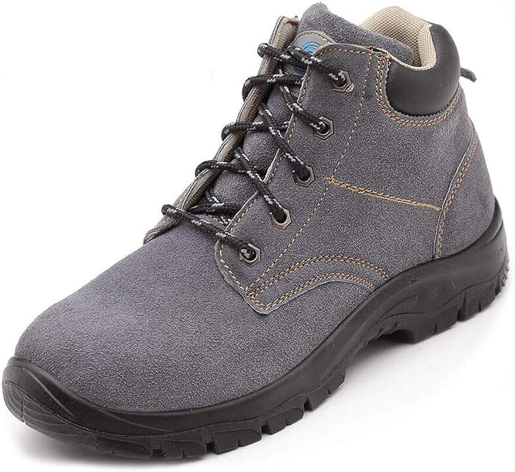 LXHK Zapatos de Seguridad para Hombre con Puntera de Acero Waterproof Antideslizante Zapatillas de Trabajo S3, Calzado de Industrial y Trekking: Amazon.es: Zapatos y complementos