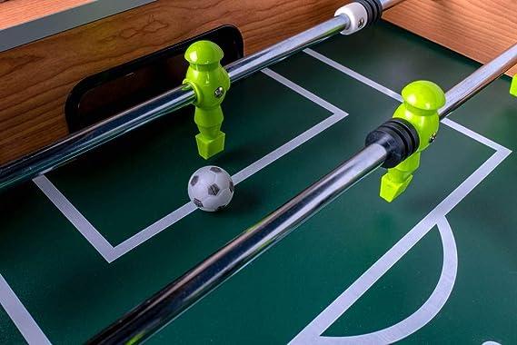 Devessport - Futbolín Titanium Ideal para Jugar con Amigos - Gran ...