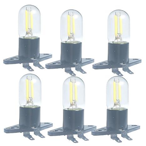 Bombilla LED de filamento de 1.5 W Z187 para microondas, 240 V, 20 W, equivalente a lámparas incandescentes para frigorífico Galanz, microondas, ...
