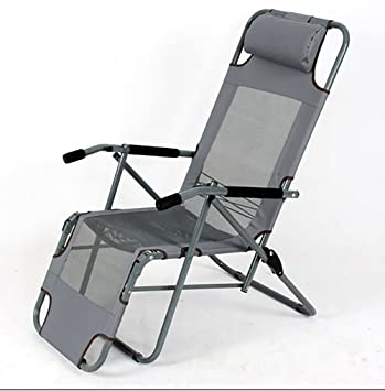 ZCJB Chaise Longue Dt Pliante Balcon Siesta Bureau