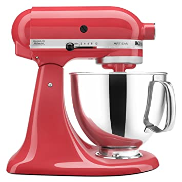 KitchenAid KSM150PSWM Artisan Series 5 Qt. Stand Mixer With Pouring Shield    Watermelon