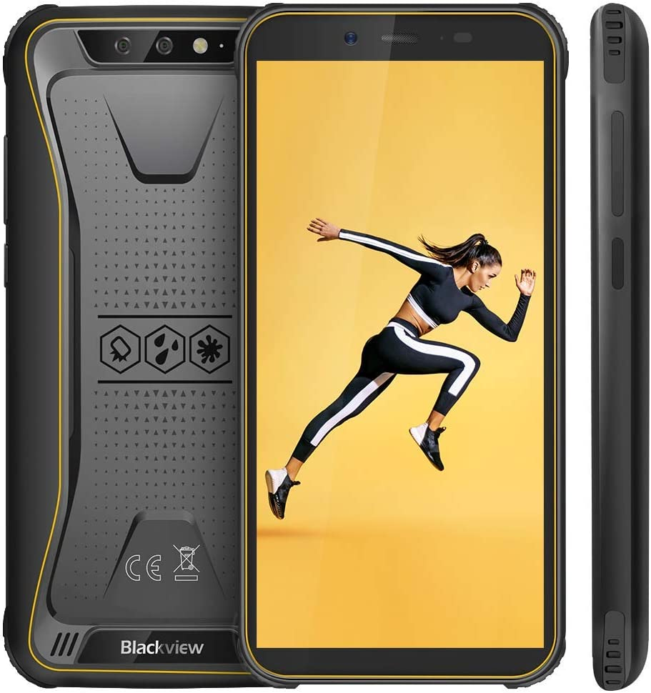 【Blackview Oficial】 BV5500 (2020) Móvil Libre Resistente IP68 Impermeable Robusto de 5.5