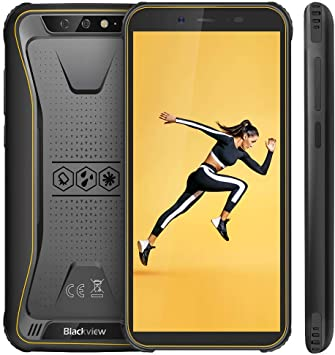 Blackview Oficial】 BV5500 (2020) Móvil Libre Resistente IP68 Impermeable Robusto de 5.5