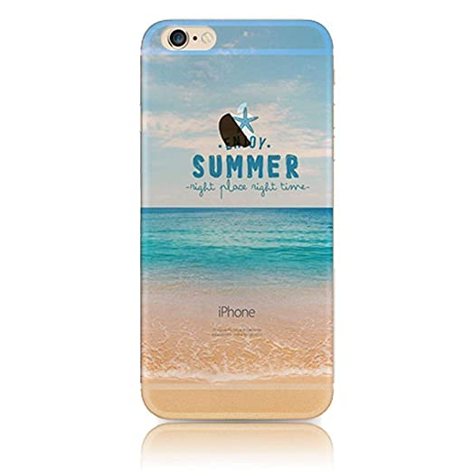 "18 opinioni per Sunroyal® Creative 3D TPU Custodia per iPhone 6 Plus / 6S Plus 5.5"" Trasparente"